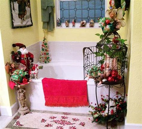 cute bathroom decorating ideas for christmas 2014