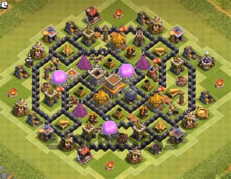 Best Th8 Base | 12 best th8 farming base 2018 new update anti everything
