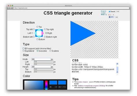 css triangle pattern generator 10 css tools must have for web designers web graphic