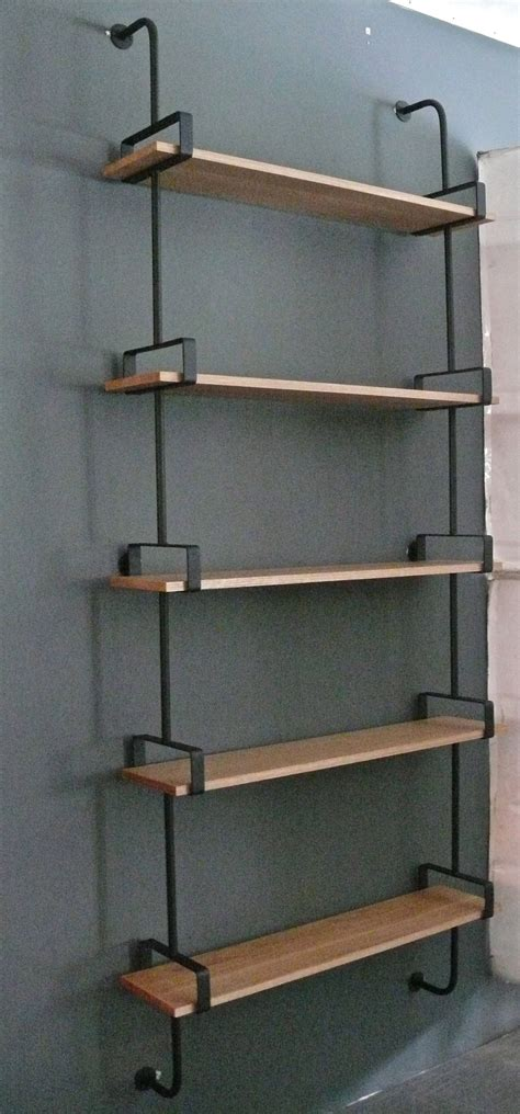 Wall Shelves For Sale Iron And Oak Wall Shelves For Sale At 1stdibs