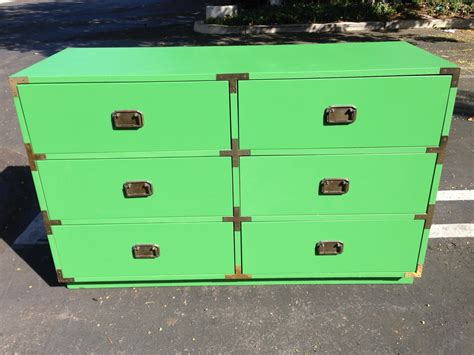 mid century chest of drawers white 2 vintage mid century mcm yellow white caign chests 3
