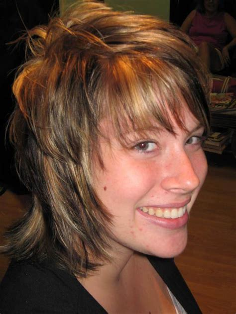 how cut womens hair short shag long shag hairstyles beautiful hairstyles