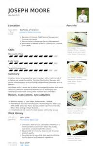Sle Resume Of Chef by Exemple Cv Chef De Partie Cuisine Cv Anonyme