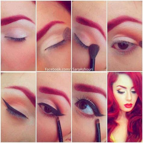tutorial eyeliner pin up 5 best makeup ideas and tutorials for stunning night out