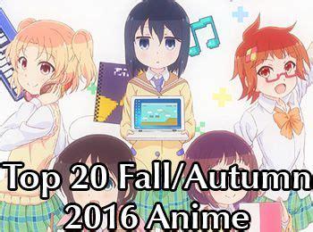 fall autumn 2016 anime chart 3 0 neregate otaku tale