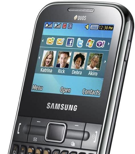 Handphone Samsung Chat harga hp keunggulan kekurangan samsung chat duos 322 wifi terbaru harga blackberry terbaru 2013