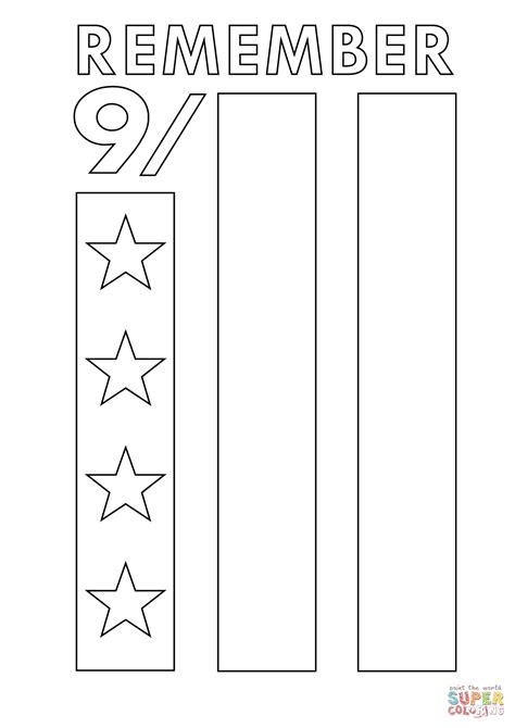 9 11 Memorial Coloring Pages by Remember 9 11 Coloring Page Free Printable Coloring Pages