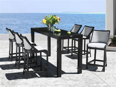 Outdoor Bar And Stools Set by Outdoor Bar Table And Stools Sets Height Broyhill Cabinet