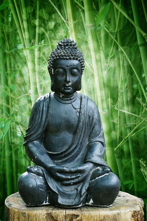 garden buddha statue wallpaper  decor