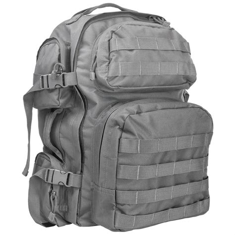 tactical backpack grey vism by ncstar tactical backpack 613600 style