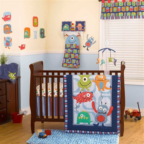Coco And Company Monster Buds Baby Bedding And Decor Monsters Crib Bedding