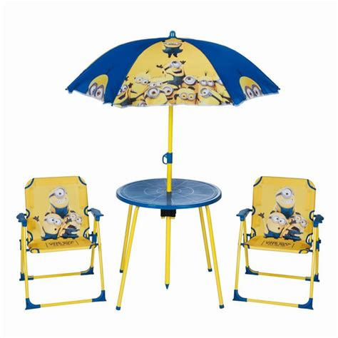 Minion Furniture by Minions Garden Furniture Set Buy At Qd Stores