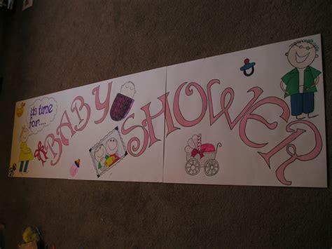 Handmade Baby Shower Banners - handmade baby shower banner theweavingideas