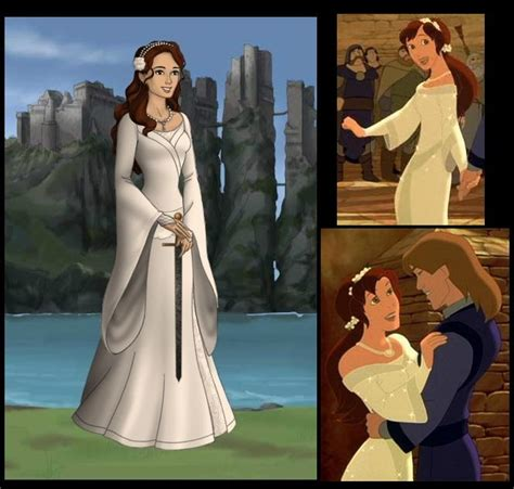 Wedding Dress Quest by Kayley From Quot Quest For Camelot Quot In White Dress
