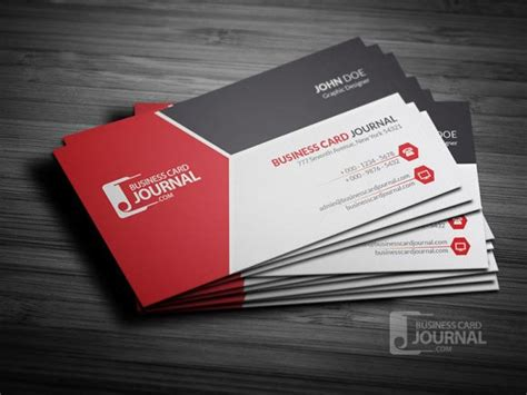 business card template word free designs 4