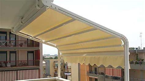 tende da sole per terrazze tenda da sole singola con cassonetto per verande e terrazze