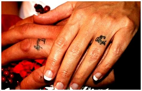 small couple tattoo ideas small designs for couples on finger