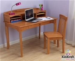 Kidkraft Avalon Desk With Hutch Kidkraft Avalon Desk With Hutch And Chair In Honey 26706