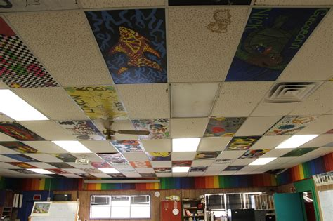 Project On Your Ceiling by Ceiling Tile Project Welcome Toart Class