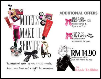 Harga Eyebrow Kit Makeover hanis zalikha solekan model pada harga rendah murah
