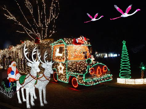 Led Motif Lighted Reindeer Carriage Christmas Santa Light Outdoor Santa Lights