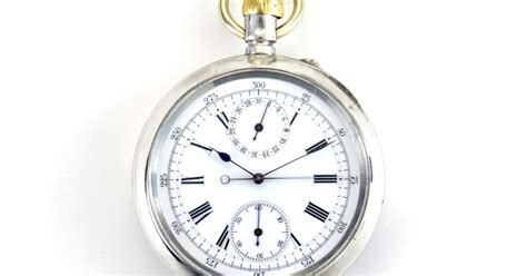 oxford pocket watches j w benson fly back chronograph