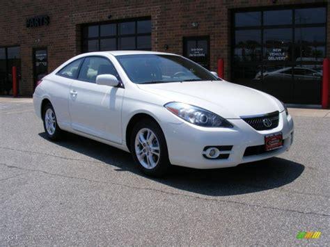 2008 Toyota Solara 2008 Blizzard White Pearl Toyota Solara Se Coupe 31963742