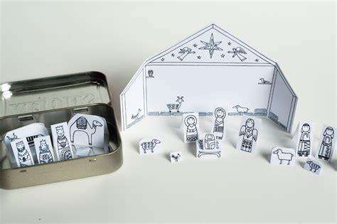 printable paper nativity free printable manger scene new calendar template site