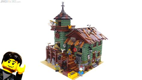 lego house music video explanation lego old fishing store gear grit