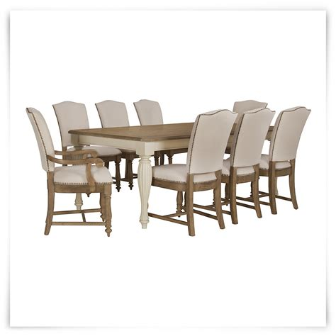 Coventry Dining Table City Furniture Coventry Two Tone Rectangular Table 4 Upholstered Chairs