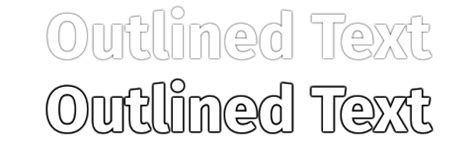 Free Arial Black Outline Font by Css Outline Effect To Text Stack Overflow