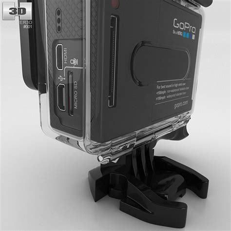gopro models gopro hero3 3d model hum3d