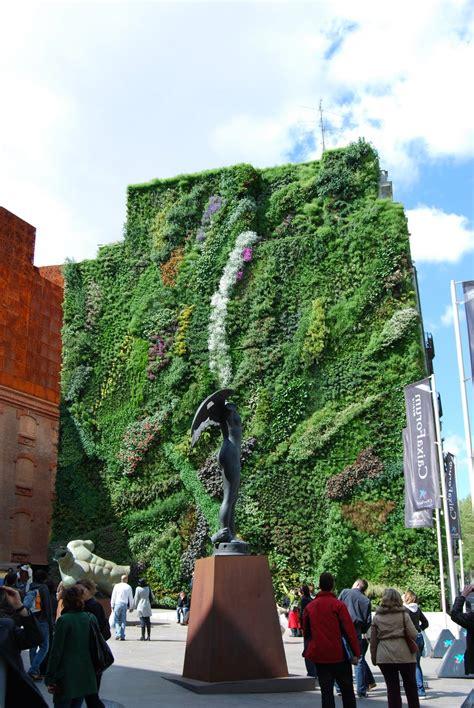 vertical garden exteriors gardens