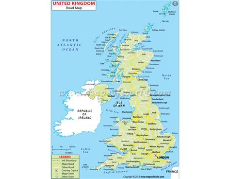 where to buy a map of the united states buy united kingdom road map