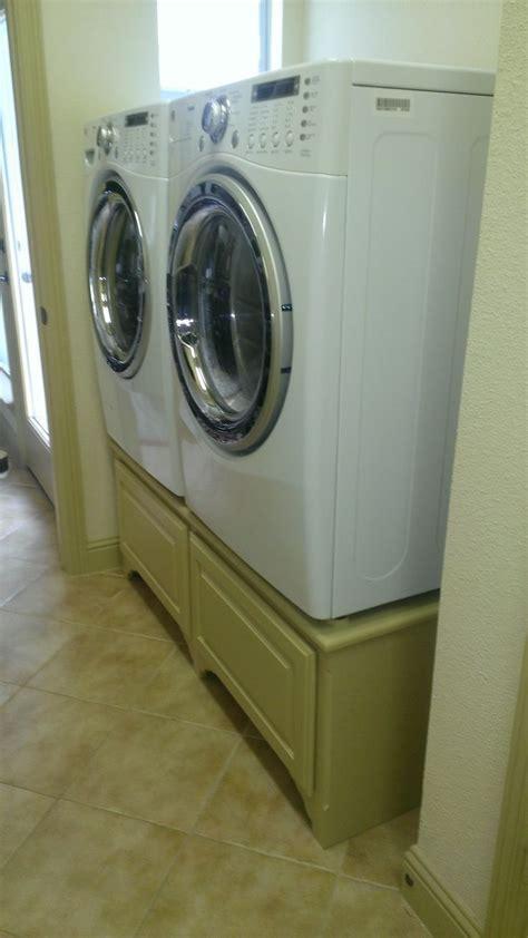 Washer And Dryer Pedestal Diy diy washer and dryer pedestal diy