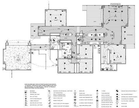 electrical floor plans the electrical plan lot 271