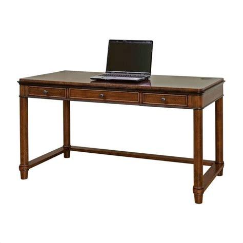 Laptop Writing Desk Kathy Ireland Home By Martin Kensington Laptop Writing Desk In Warm Fruitwood Imke384