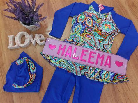 Baju Renang Kanak Kanak Ilma35 Baju Renang Muslimah Kanak Kanak Haleema Swimwear