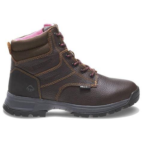wolverine womens 6in piper waterproof work boots w10182