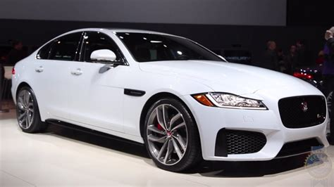 Jaguar Auto 2016 by 2016 Jaguar Xf 2015 New York Auto Show Youtube