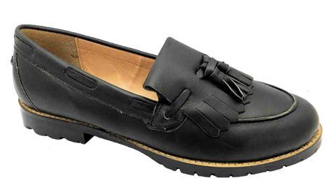 s slip on loafers blackfriars fringe loafer s slip on black slip on