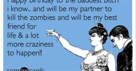 besties birthday zombies sayin stuff pinterest