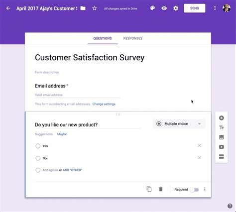 google form use google forms and gmass to send surveys and follow up