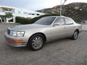 1993 lexus ls 400 ls400 sedan in el cajon ca 1 owner car