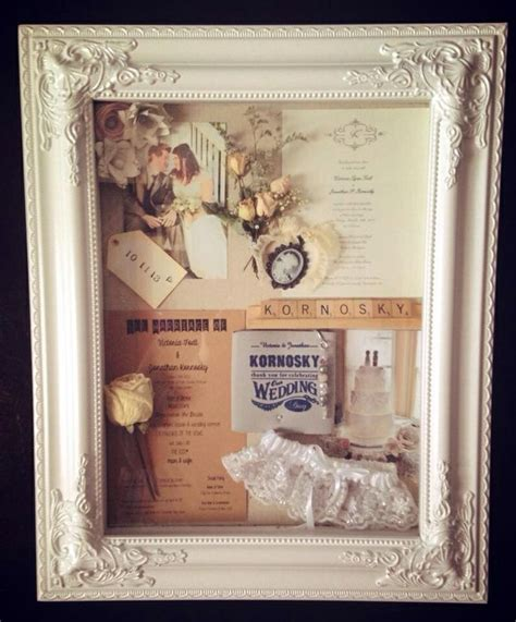 25 best ideas about wedding shadow boxes on