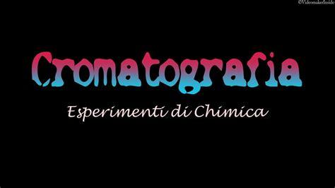 esperimenti di chimica in casa esperimenti di chimica cromatografia su carta