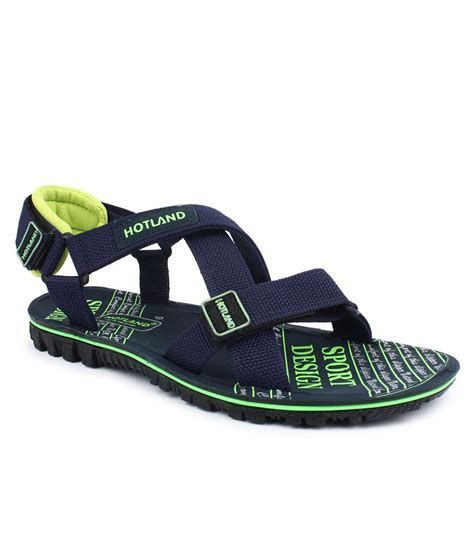 navy sandals 1 hotland navy velcro sandals price in india buy hotland