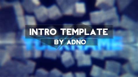 minecraft intro template free exploding blocks minecraft intro template c4d ae