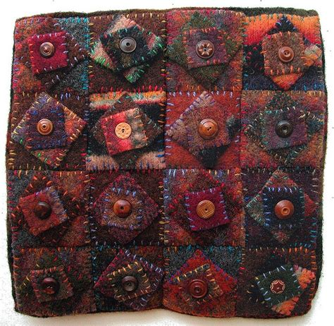 Woolen Quilt by 17 Best Ideas About Wool Quilts On Wool Fabric