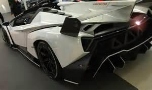 Lamborghini Veneno Roadster For Sale Not For Sale White Veneno Roadster Cars